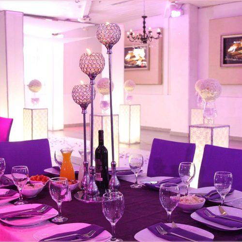 עיצוב שולחן לחתונה קטנה בראשון לציון