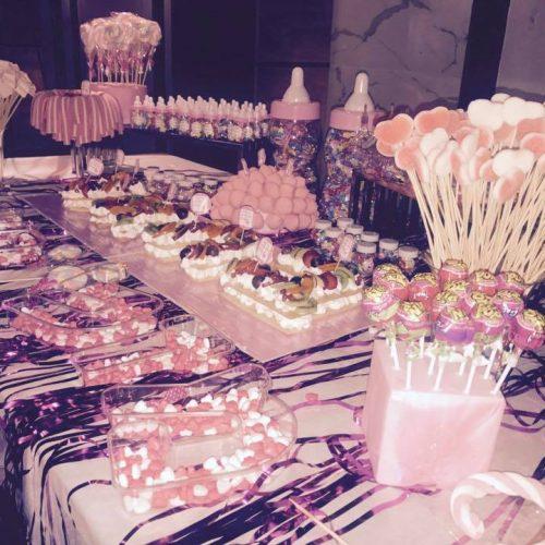 שולחן בר ממתקים לילדים באירוע בר מצווה